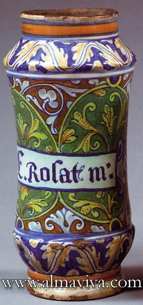 Ref. POT13 - Apothicary jar Nîmes. H 30 cm (about 11,8'')