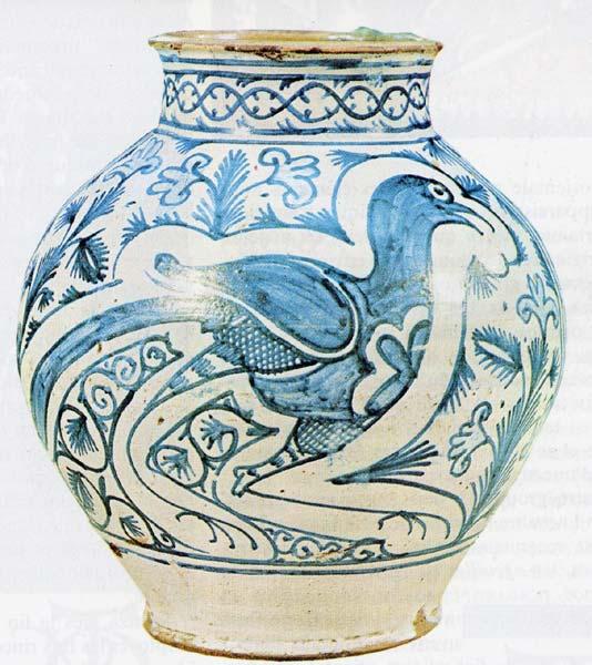 Ref. POT15 - Apothicary jar Toscane. H 26 cm (about 10,2'')