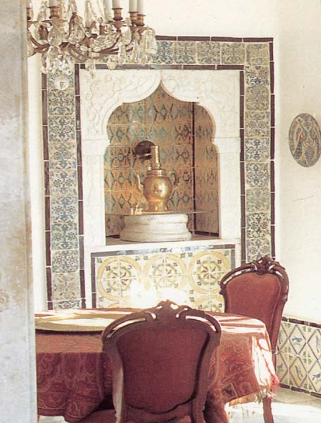 Almaviva Islamic tiles - Ref. OR11 - Niche with tiles
