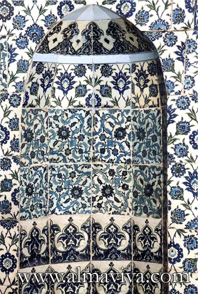 Almaviva Islamic tiles - Ref. OR3 - Iznik style (see keywords)