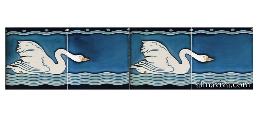 Ref. AN66 - Frieze Swan 1900