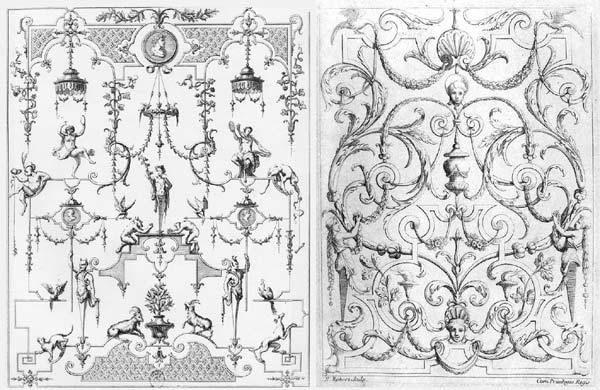 Almaviva Renaissance tiles - Ref. R29 - Renaissance engravings, some examples that may inspire ceramic panels (see archives)