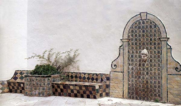 Almaviva Islamic tiles - Ref. OR13 - Moorish patio, early 16th c.