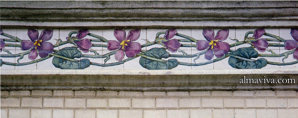 Ref. AN68 - Architectural Ceramics: Wall Frieze