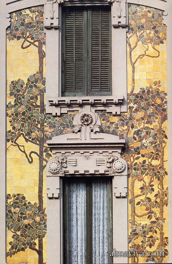 Ref. AN71 - Architectural Ceramics in Milan