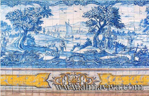 Ref. A29 - Landscape. Dim. 345x150 cm (about 11,3'x4,9')