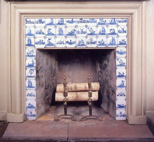 Almaviva Delft tile - Ref. D05 - Tiles for fireplace decor
